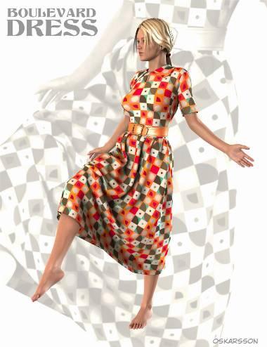 Boulevard Dress for Genesis 2 Female(s)