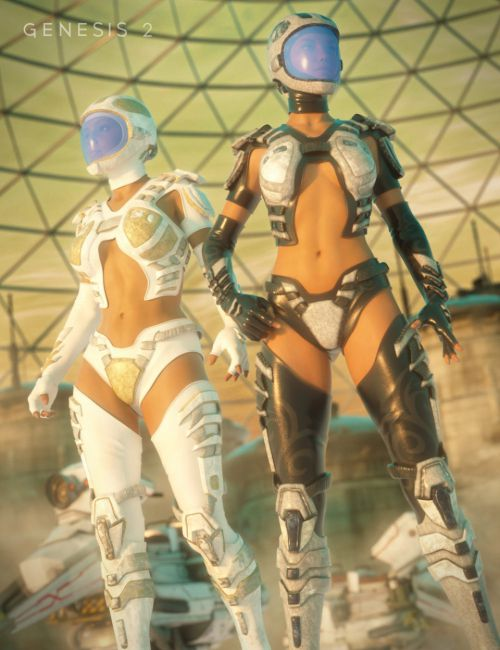 Scifi Sniper Suit Textures