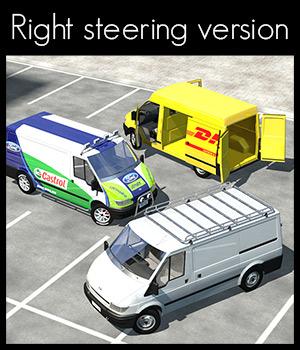 Transit Van, right steering version.