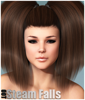 Steam Falls Hair and OOT Hairblending