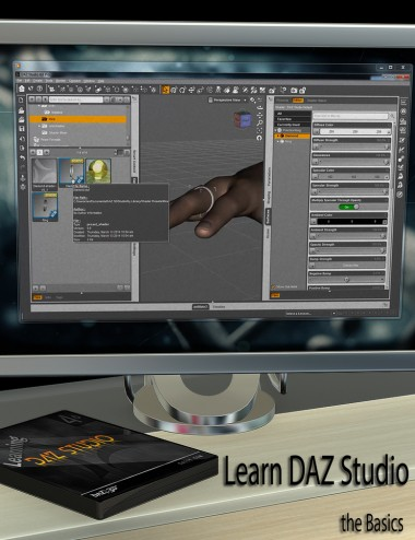 Learning DAZ Studio - Basics
