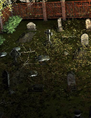 Ravenwood Cemetery - Ground Clutter