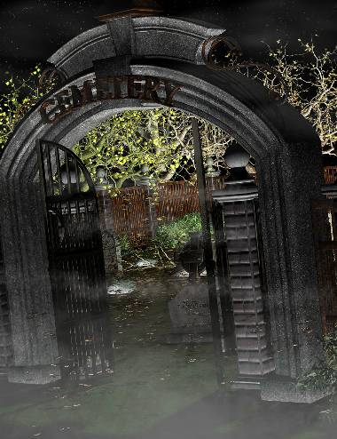 Ravenwood Cemetery- Gate