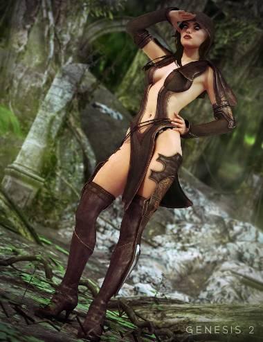 Sherwood Huntress Textures