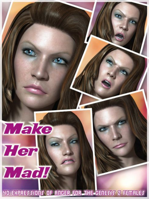 Make Her Mad Expressions for Genesis 2 Female(s)