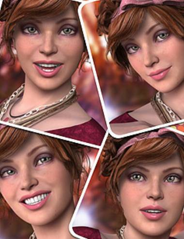 Make Her Smile Expressions for Genesis 2 Female(s)