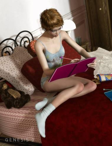 RW My Dear Diary Props & Poses