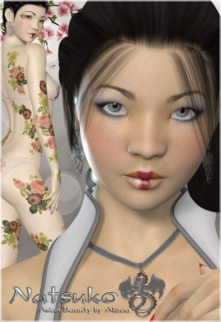 A3D Natsuko Asian Beauty for V4