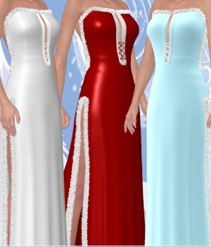 Wynter Frost for Winter Galaxy V4 Dress