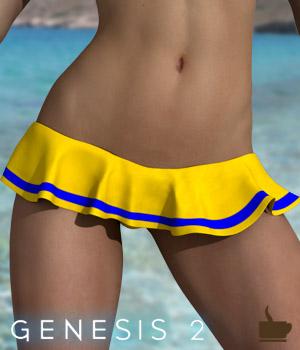 TC Ruffle Bikini Bottom