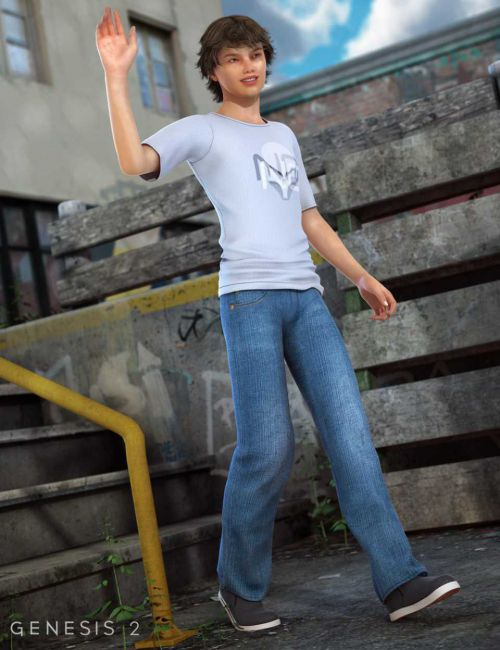 Brodie Casual for Genesis 2 Male(s)