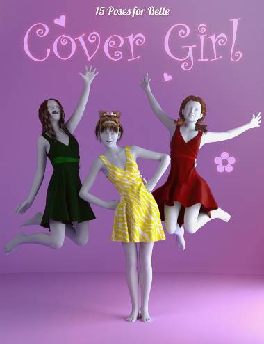 Cover Girl Poses for Belle 6