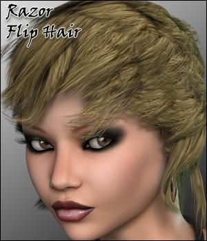 Razor Flip Hair