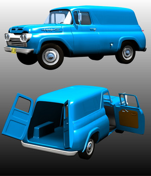 Ford F100 Panel 1960