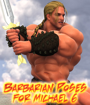 Barbarian Poses for Michael 6