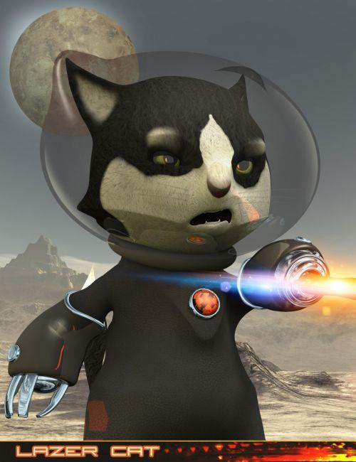 Lazer Cat