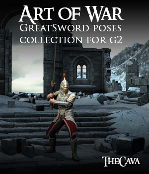 Art of War - The Ultimate GreatSword Poses for Genesis2