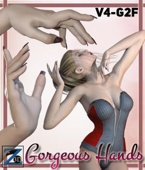 Z Gorgeous Hands - V4-G2F