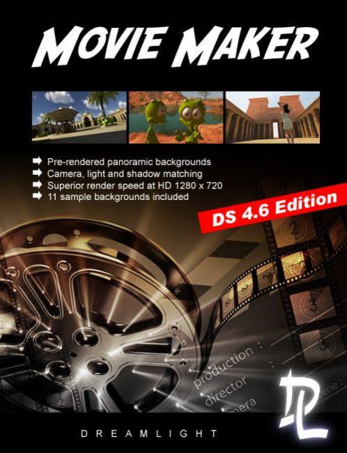 Movie Maker DS 4 6 Edition | 3D Models for Poser and Daz Studio