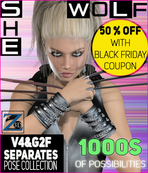 Z She-Wolf- Separates Collection- V4-G2F