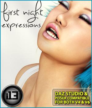 i13 First NIGHT expressions for V4-G2F/V6