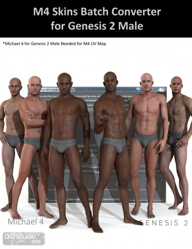 M4 Skins Batch Converter to Genesis 2 Male(s)