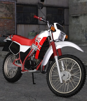 YAM.DT80 Motorcycle