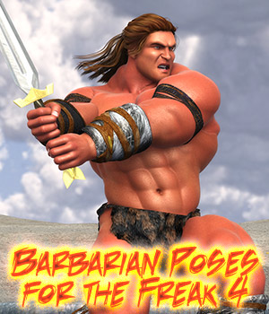 Barbarian Poses for the Freak 4