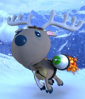 S1M Zippy The Reindeer