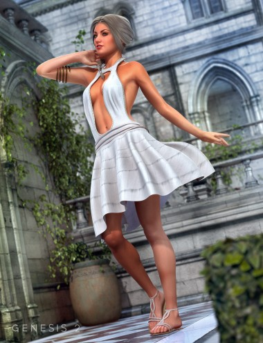 Diana Outfit for Genesis 2 Female(s)