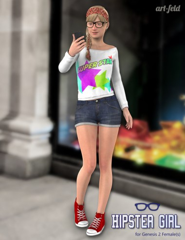 Hipster Girl for Genesis 2 Female(s)