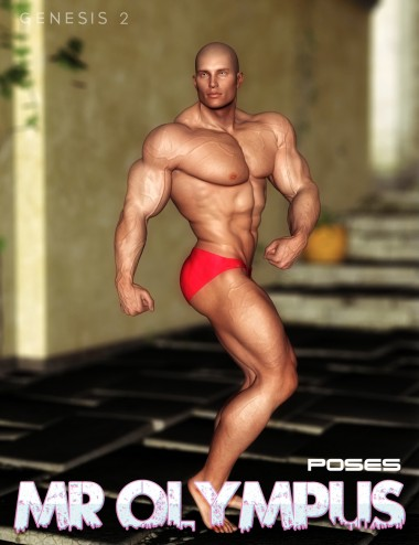 Mr Olympus Poses for Genesis 2 Male(s)