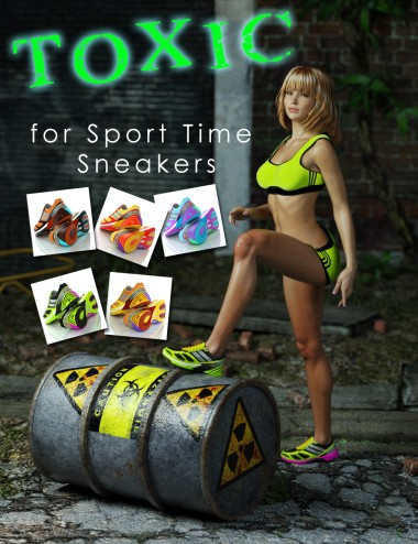Toxic for Sport Time Sneakers
