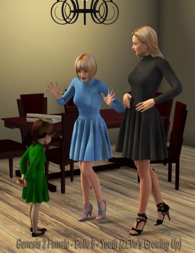 Katlyn Dress for Genesis 2 Female(s)