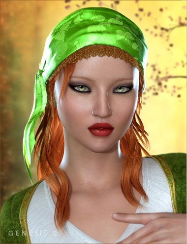 Gypsy Hair for Genesis 2 Female(s)