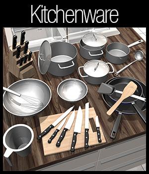 Everyday items, Kitchenware