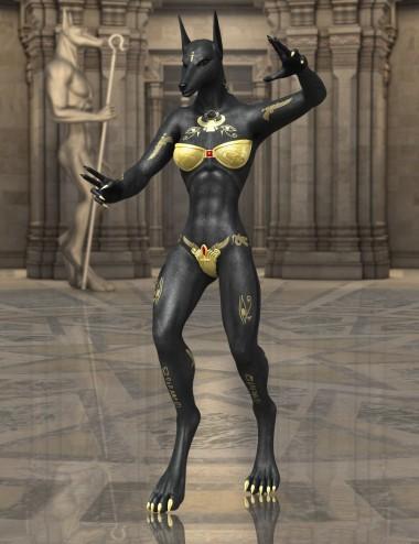 Genesis 2 Female Anubis
