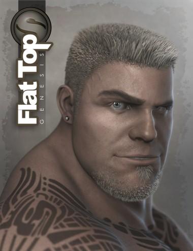 Flat Top Hair for Genesis and Genesis 2