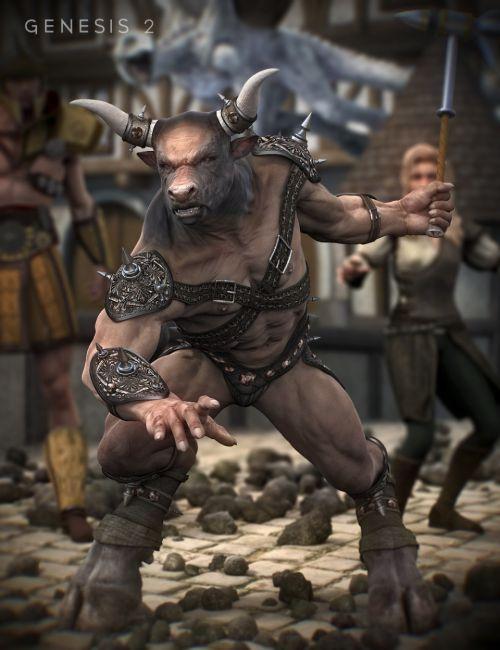 Minotaur Battle Gear