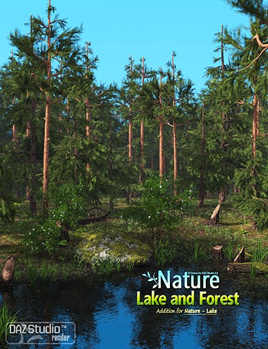 Nature- Lake and Forest