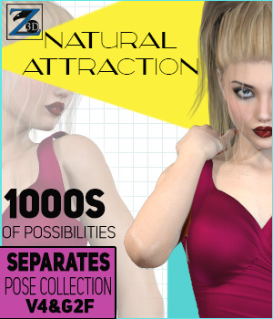 Z Natural Attraction - Separates Collection - V4-G2F
