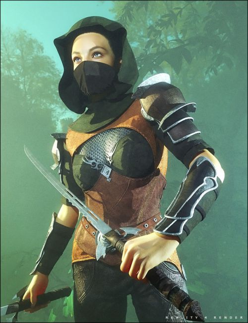 Fantasy Armor Accessories for Genesis 2 Female(s)
