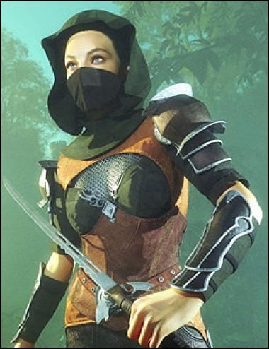 Fantasy Armor Accessories for Genesis 2 Female(s)