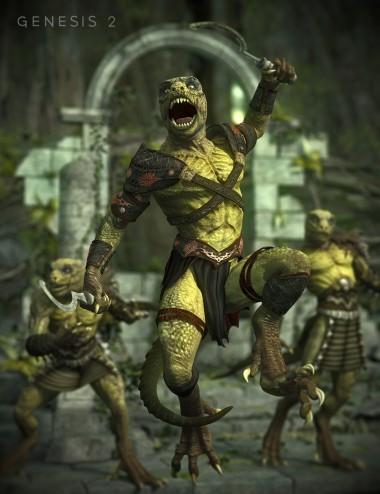 Tribal Warrior for Genesis 2 Male(s)