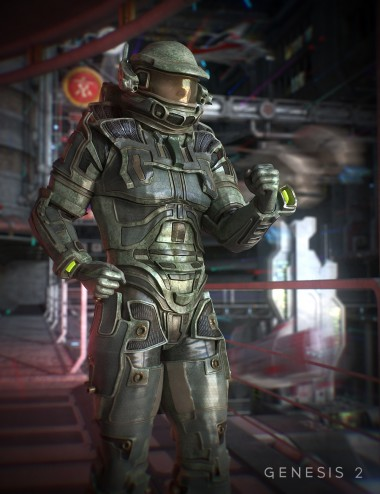 Space Hunter for Genesis 2 Male(s)