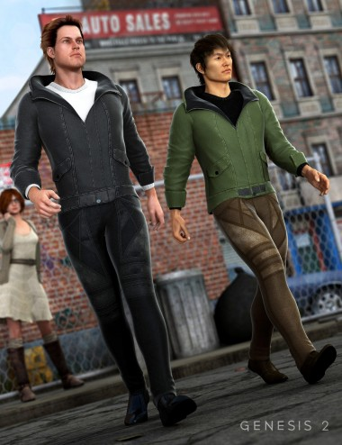 Amos Outfit for Genesis 2 Male(s)