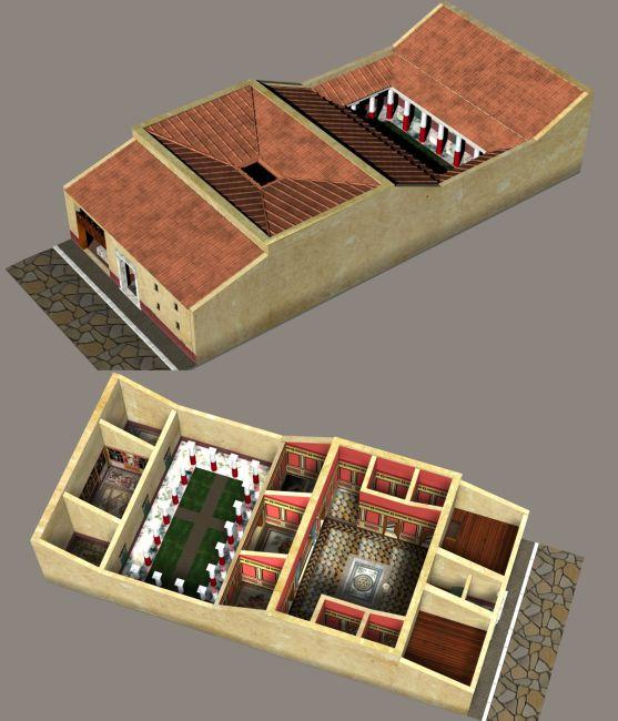 ROMAN PATRICIAN HOUSE