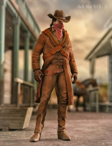 Western Outlaw for Genesis 2 Male(s)