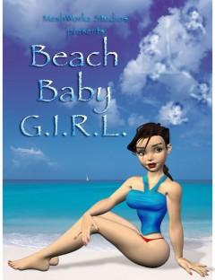 Beach Baby Girl