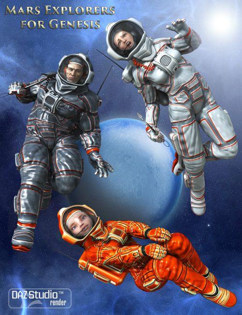 Mars Explorers for Genesis